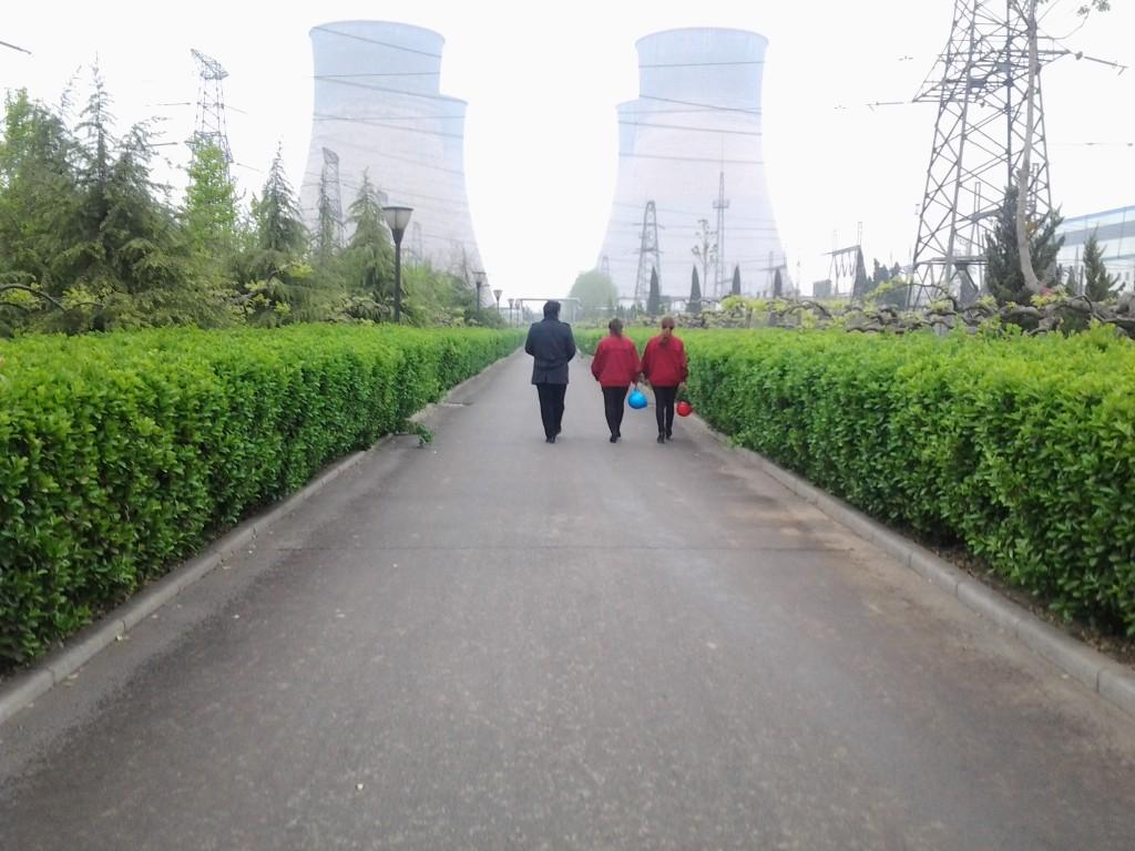 邢台电厂宣传片取景