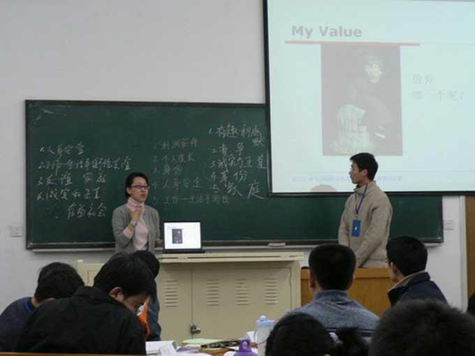 邢台大学课程拍摄