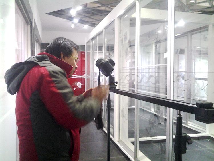 沙河玻璃企业宣传片拍摄